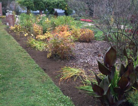 the beautiful gardens of Glen Magna Farms